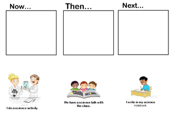 FREE Visual Transition Charts with Pictures