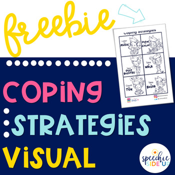 FREE Visual for Coping Strategies