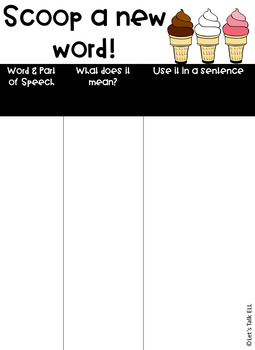 FREE! Vocabulary-Building Organizer