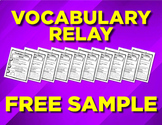 FREE Vocabulary Word Worksheets (10 pages)