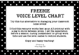 FREE Voice Level Chart