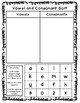 FREE Vowel and Consonant Sorting Activity