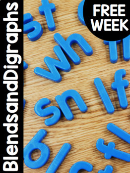 FREE WEEK PrimaryBlendsandDigraphs Curriculum