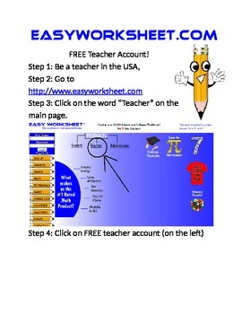 FREE MATH WORKSHEETS! by EasyWorksheet.com | Teachers Pay ...