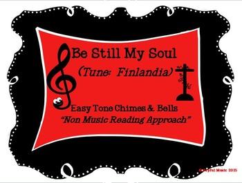 FREE WORSHIP HYMN Easy Tone Chimes & Bells BE STILL MY SOU