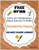 FREE WORSHIP HYMN Easy Tone Chimes & Bells WONDERFUL PEACE