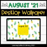 FREE Wallpaper Background August 2021 Pineapple Desktop Wa
