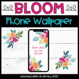 FREE Wallpaper Background Bloom Floral Phone Wallpaper Spr