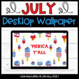 FREE Wallpaper Background July 'Merica Desktop July Summer