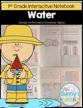 FREE Water Interactive Notebook (1st Grade)