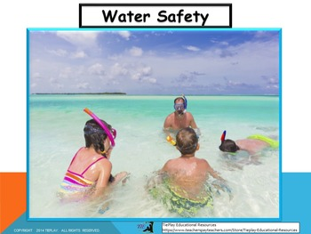 FREE Water Safety Slideshow & Handouts