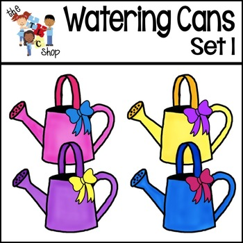 FREE! Watering Cans Set 1