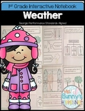 FREE Weather Interactive Notebook (1st Grade)