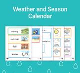 FREE Weather and Seasons Printable Classroom Calendar for Circle Time
