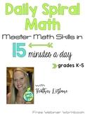 FREE Webinar Daily Spiral Math