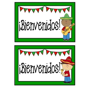 FREE Welcome Back to School Postcards In Spanish {Editable}