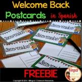 Back to School Postcards in Spanish I FREE I Postales I Re