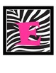 FREE Welcome Banner - Zebra Stripes with Pink Letters