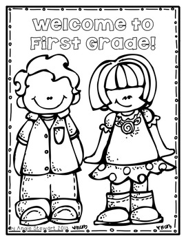 FREE} Welcome to School Coloring Pages for Back to School by ...