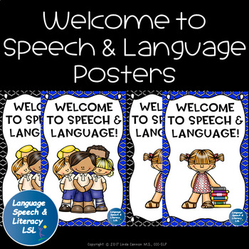 Welcome to Speech and Language Posters