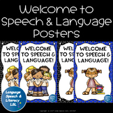 Welcome to Speech and Language Posters (Back to School)