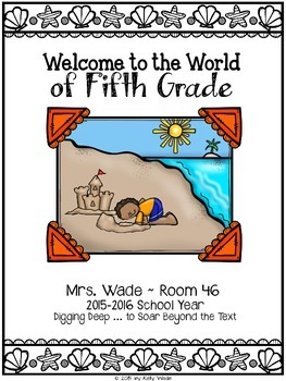FREE ~ Welcome to the World of _____ Grade