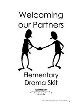 FREE Welcoming Partners Short Drama Skit Elementary