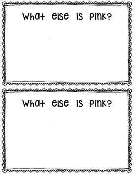 FREE~ What is Pink?  reader