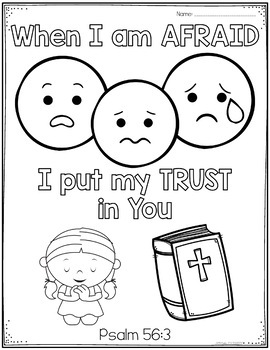 The Lord makes me lie down in green pastures coloring page   Free ...   350x270