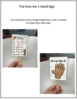 FREE Listening with your whole body Attention Classroom speech therapy support