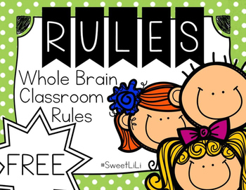 FREE Whole Brain Rules Posters