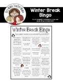 FREE Winter Break Bingo (First Grade)