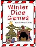 FREE Winter Dice Game Math and Reading Teacher Treasure Hunter