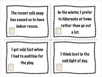 FREE Winter Idioms