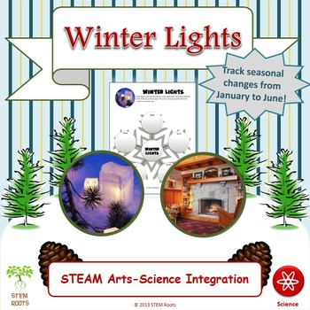 Winter Lights Writing Exercise and Computer Interactive