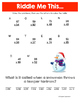 FREE Winter Multiplication Activities NO PREP