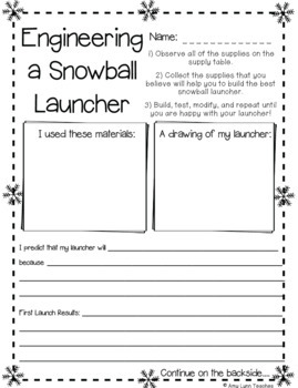 FREE Winter Science Activities Set