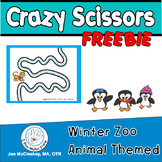 FREE Winter Themed Crazy Scissors Labs for Center Time!