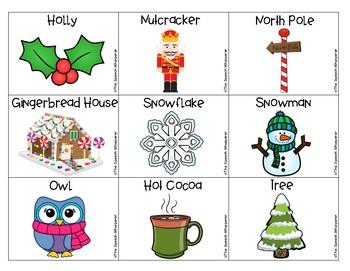 FREE Winter Vocabulary Cards