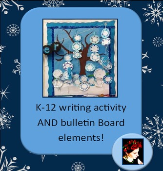 FREE! Winter Writing Activity and Bulletin Board Elements