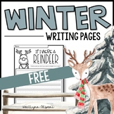 FREE Winter Writing Pages - Creative Writing Prompts