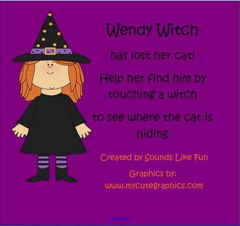 Smarboard Reinforcement Game: Wanda Witch