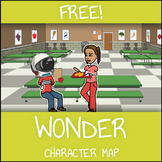 FREE Wonder Character Map Worksheet