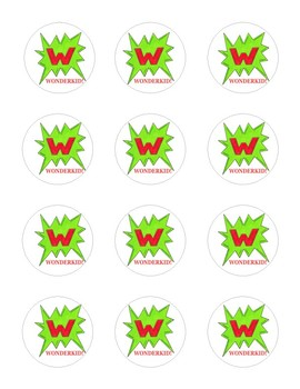 FREE Wonderkid Motivational Stickers