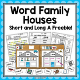 FREE! Word Work Centers and Activities for Short and Long A