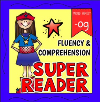 FREE Word Family -OG Emergent Reader Fluency Reading Comprehension
