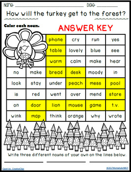FREE Word Mazes featuring Nouns Adjectives Verbs and Preposition Activities