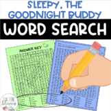 Sleepy, the Goodnight Buddy Word Search - FREE
