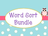 FREE Word Sorts Preview with Short oo and Long oo Words and ou and ow Words