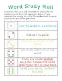 FREE Word Study activity